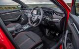 Skoda Octavia vRS Estate 2020 UK first drive review - cabin