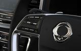 7 Ssangyong Rexton 2021 UK FD steering wheel