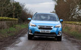 Subaru XV e-Boxer 2020 UK first drive review - on the road front