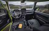 Suzuki Jimny 2018 first drive review dashboard