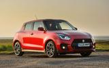 Suzuki Swift Sport hybrid 2020 UK first drive review - static