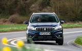Suzuki SX4 S-Cross Hybrid 2020 UK first drive review - on the road front