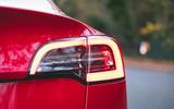 Tesla Model 3 Standard plus 2020 UK first drive review - rear lights
