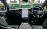 Tesla Model X Long Range 2019 UK first drive review - cabin