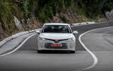 Toyota Camry 2019 first drive review on the road front