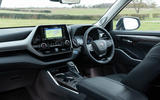 7 Toyota Highlander 2021 UK first drive review cabin