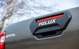 Toyota Hilux Invincible X 2020 UK first drive review - tailgate