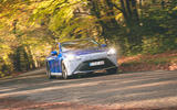 Toyota Mirai 2021 prototype drive - cornering