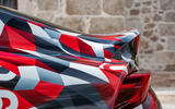 Toyota Supra 2019 prototype first drive review spoiler