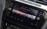 Volkswagen Arteon 1.5 EVO 2018 UK review infotainment