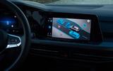 Volkswagen Golf 2020 first drive review - infotainment