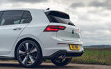 7 Volkswagen Golf GTD 2021 UK first drive review exhausts