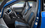 7 Volkswagen Golf R Estate 2021 first drive review front seats
