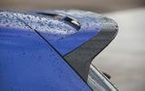 7 Volkswagen Golf R performance pack 2021 UK FD spoiler
