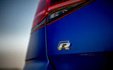 Volkswagen Golf R Performance Pack 2018 review boot badge