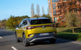 Volkswagen ID 4 2021 first drive review - on the road rear
