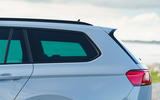 Volkswagen passat Estate R Line 2019 UK review - rear three quarters