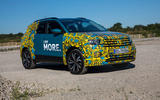 Volkswagen T-Cross prototype 2019 first drive review static front