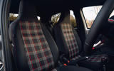 Volkswagen Up GTI 2020 UK first drive review - front seats