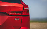 7 Volvo V60 B3 Momentum 2021 UK first drive review rear lights
