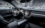 Volvo V60 Cross Country 2019 first drive review - cabin