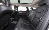 Volvo V90 R-Design Pro 2018 UK first drive review - rear seats