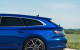7 VW arteon R Shooting Brake 2021 UK FD rear end