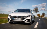 Volkswagen Arteon Shooting Brake eHybrid 2020 first drive review - on the road nose