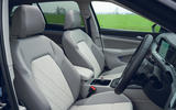 7 VW Golf Estate 2021 UK FD front seats