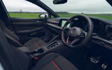 7 VW Golf GTI Clubsport 2021 UK first drive review cabin