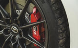 Britain's best affordable drivers car 2020 - Toyota GR Yaris - brake calipers