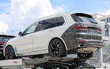 BMW X7 - spy shots