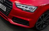 Audi S4 LED headlights