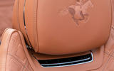 Bentley Mulliner Continental GT Convertible Equestrian Edition 2020 - seat