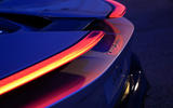 Pininfarina Battista 2019 first drive review - rear lights at night