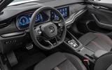 Skoda Octavia vRS 2020 - interior