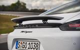 Porsche 718 Cayman rear wing
