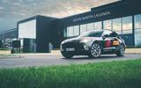 Aston Martin DBX 2020 prototype drive - static back at base