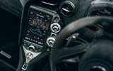 McLaren 720S Track Pack 2018 UK first drive review - infotainment