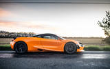 McLaren 720S Track Pack 2018 UK first drive review - static side