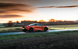 McLaren 720S Track Pack 2018 UK first drive review - on the road dusk