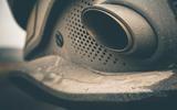 Aston Martin DBX 2020 prototype drive - exhausts
