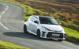 Britain's best affordable drivers car 2020 - Toyota GR Yaris - cornering front