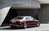 2021 Mercedes-Maybach S-Class official images - static rear