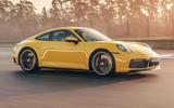 2019 Porsche 911 Carrera S track drive - track side