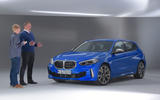 BMW 1 Series 2019 official reveal - studio interview