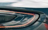 74 Ferrari Roma triple test 2021 aston rear lights