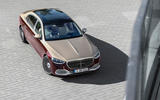 2021 Mercedes-Maybach S-Class official images - static aerial