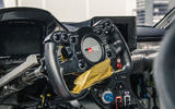 Waking the Toyota GT-One - Supra GT4 steering wheel