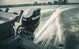 74 Suzuki at 100 Goodwin boat engine